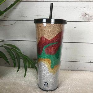 Starbucks Holiday Glitter Shimmer Tumbler